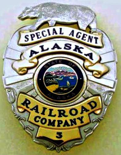 Alaska Railroad Special Agent Badges